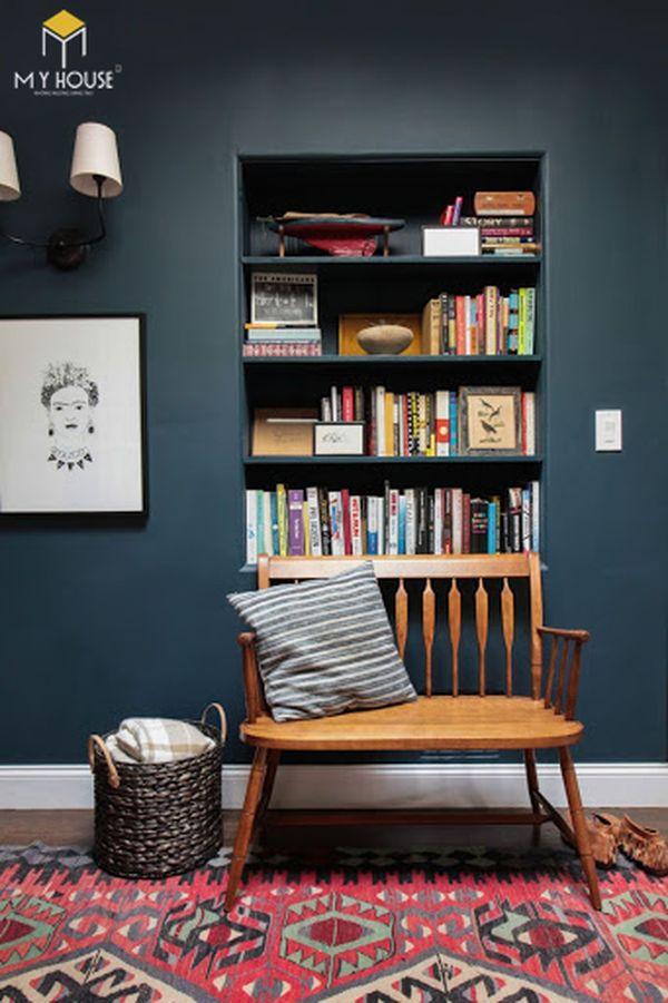 Xu hướng tủ âm tường trang trí phòng khách sang trọng