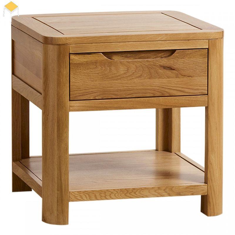 Tủ đầu giường gỗ sồi