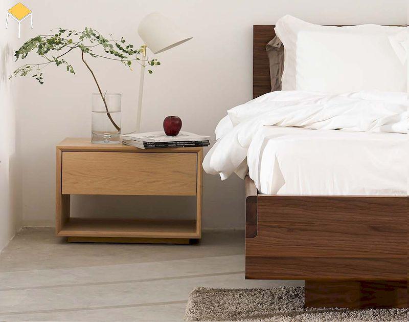 Vì sao nên chọn Tủ đầu giường gỗ sồi