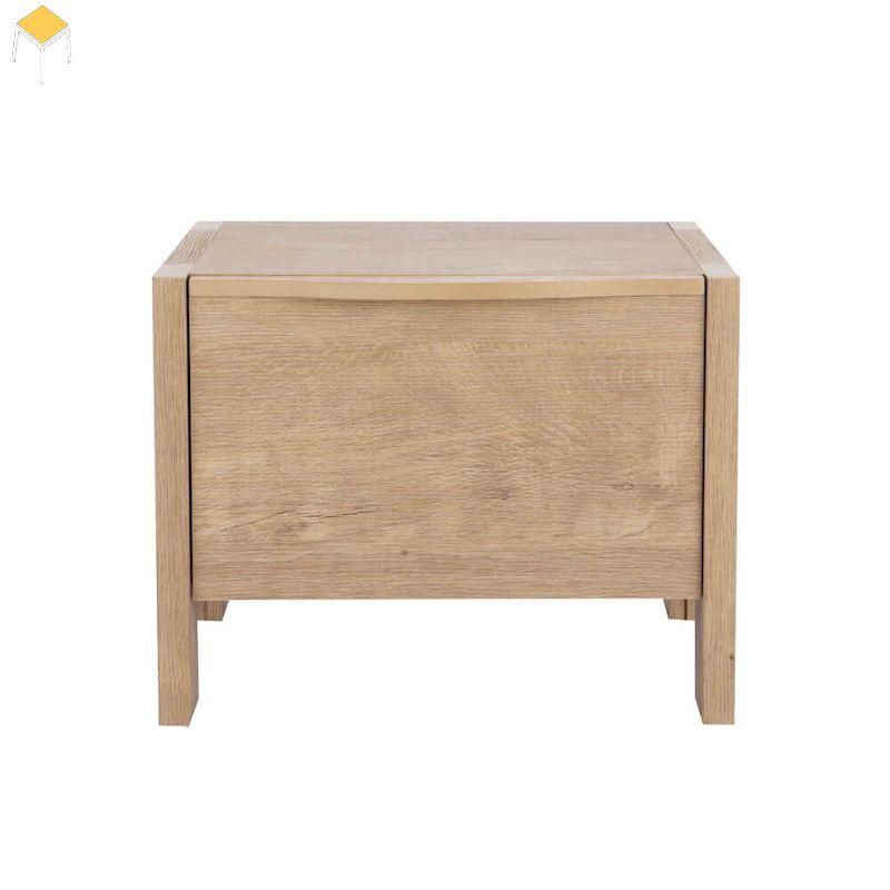 Tab đầu giường gỗ sồi 1 ngăn