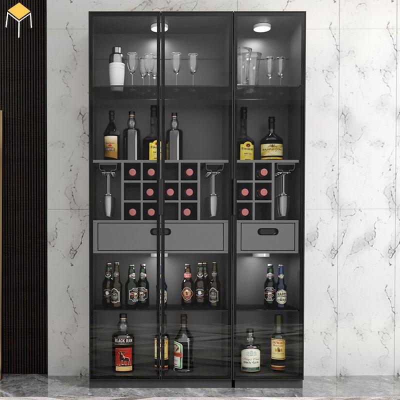 Vì sao lựa chọn tủ rượu âm tường bằng kính