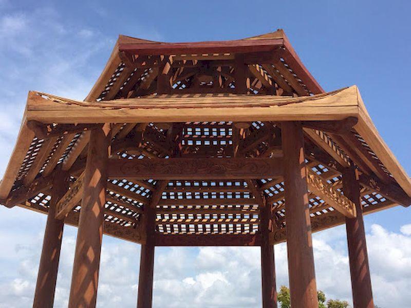 Đặc điểm của nhà lục giác bằng gỗ