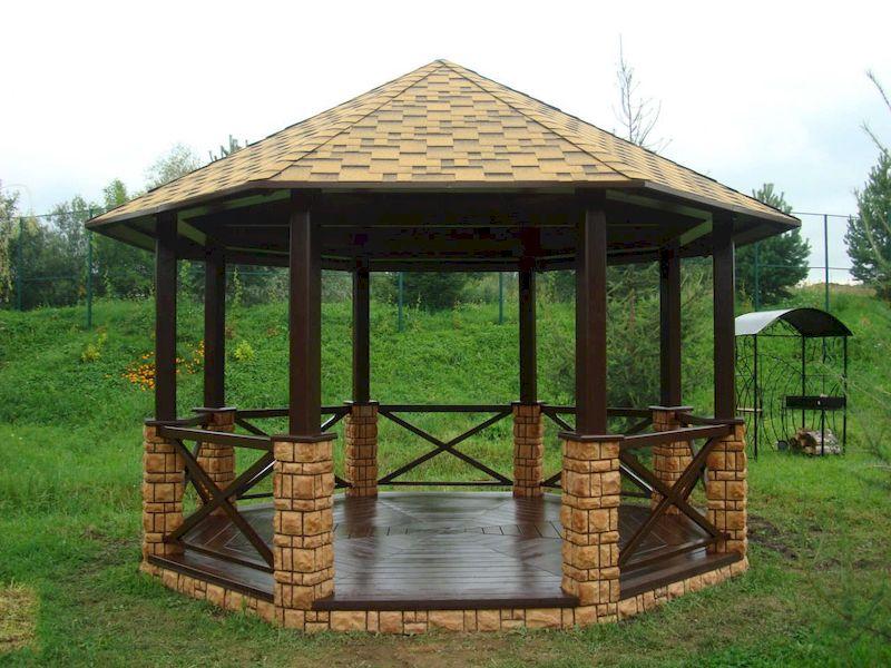 Nhà lục giác tại các biệt thự nhà vườn
