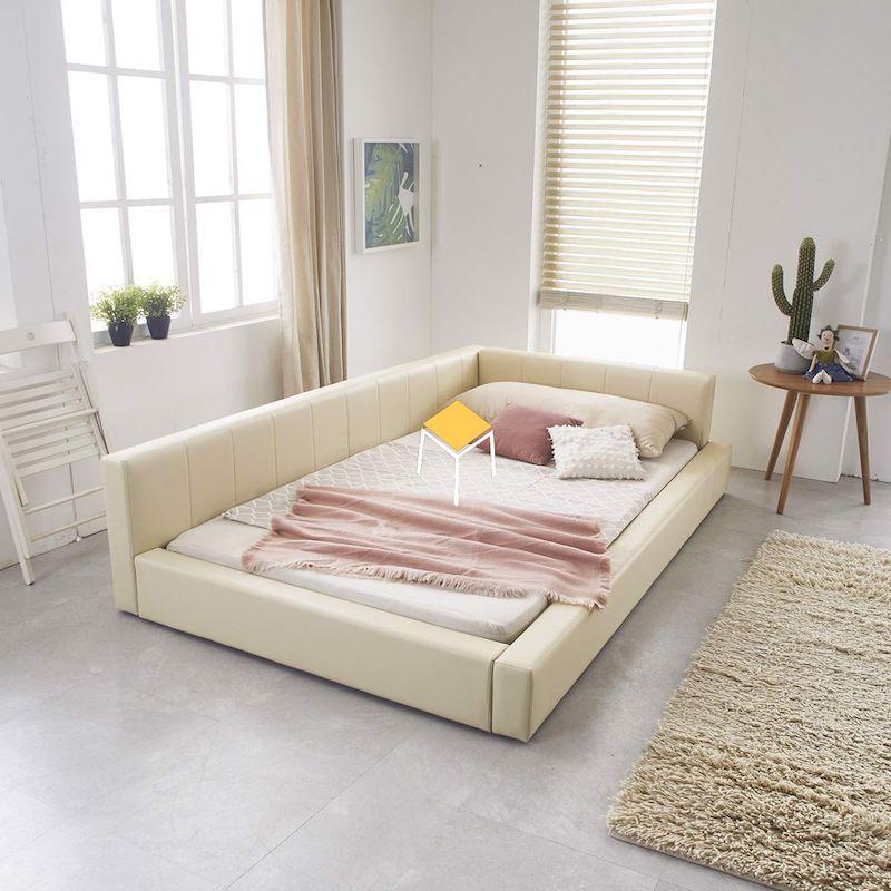 Decor phòng ngủ Hàn Quốc - giường ngủ