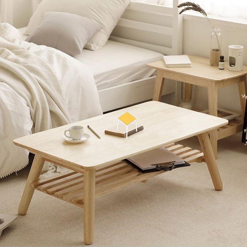 Nội thất gỗ tự nhiên đẹp kiểu Hàn