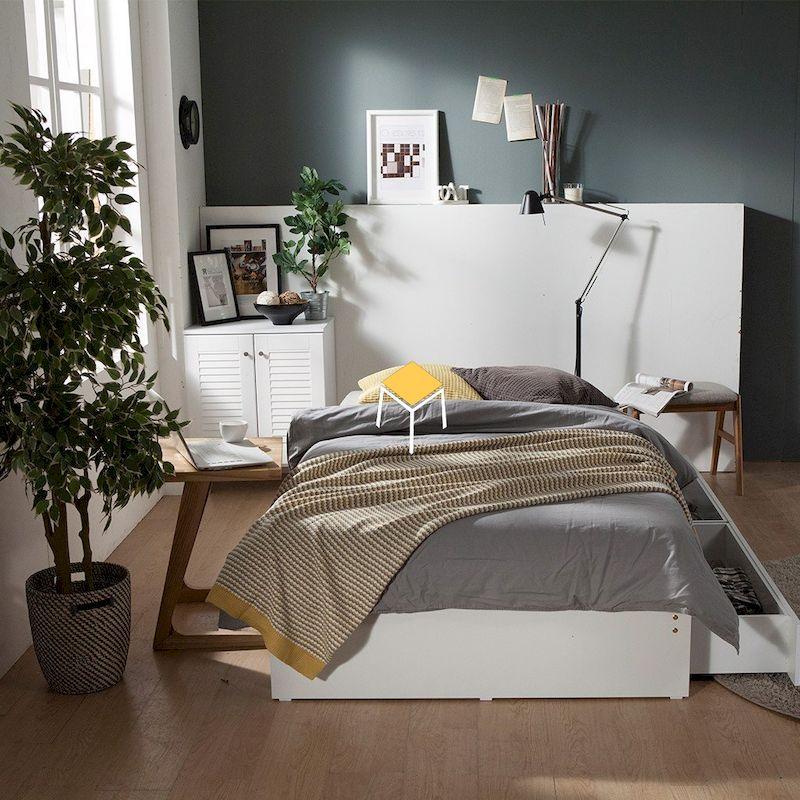 Decor phòng ngủ Hàn Quốc - Chất liệu