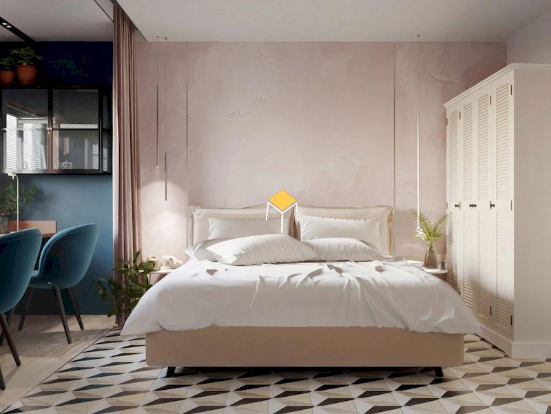 Phối màu sắc đẹp cho phòng ngủ hiểu Hàn