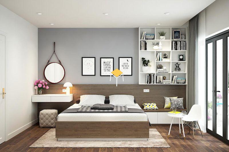 Phòng ngủ kiểu Hàn hiện đại