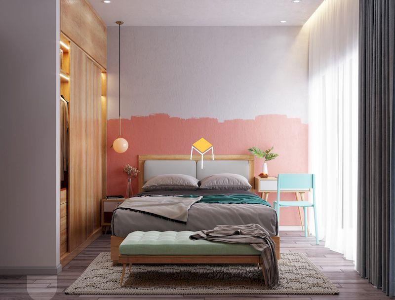 Trang trí phòng ngủ theo chiều dài và chiều cao