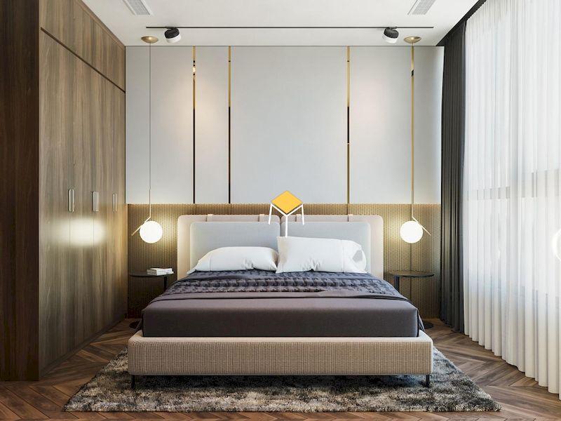 Decor phòng ngủ nhỏ đơn giản với ánh sáng tự nhiên