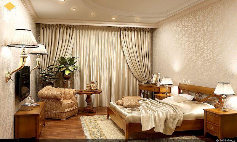 Đặc điểm của phòng ngủ vintage - Kiểu dáng