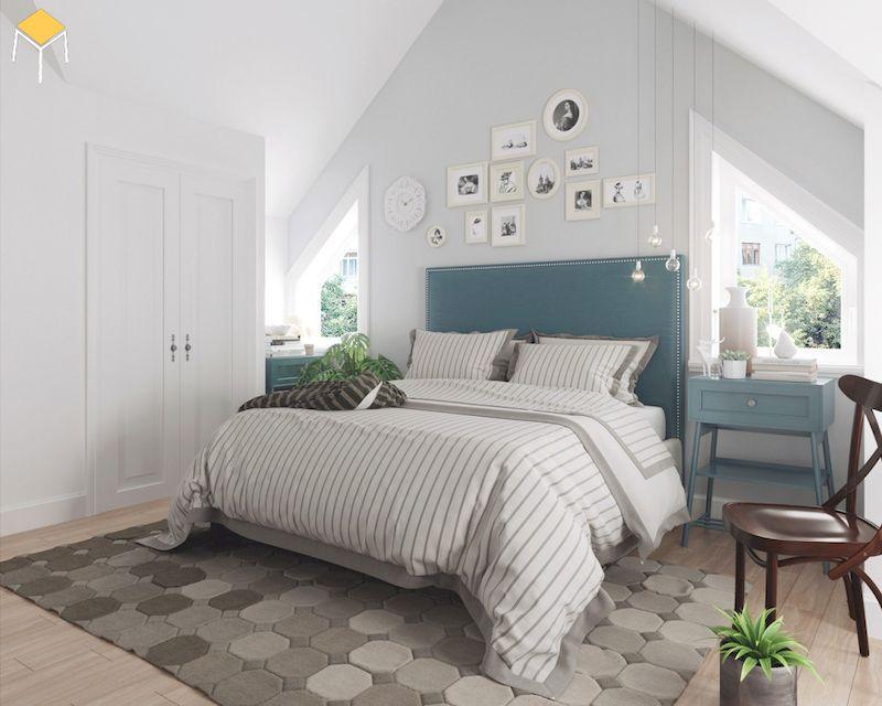 Phòng ngủ vinatge đẹp