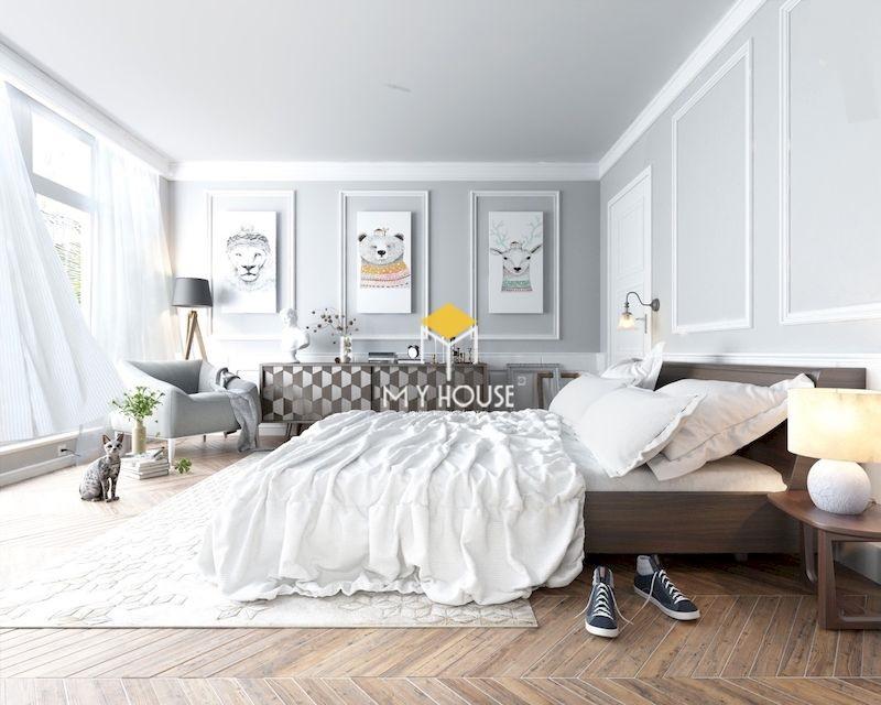 Nội thất phòng ngủ phong cách châu Âu sang trọng, thanh lịch và tiện nghi