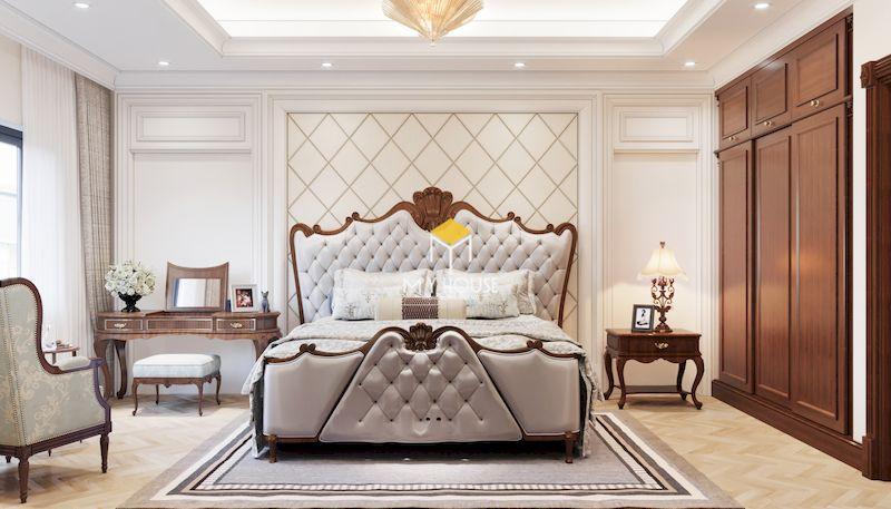 Đặc điểm của giường ngủ phong cách châu Âu - cổ điển