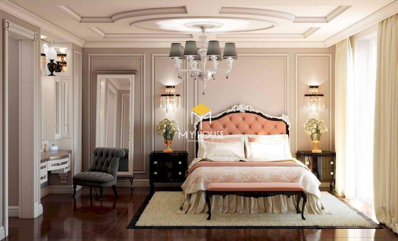 Giường ngủ phong cách châu Âu giá bao nhiêu?