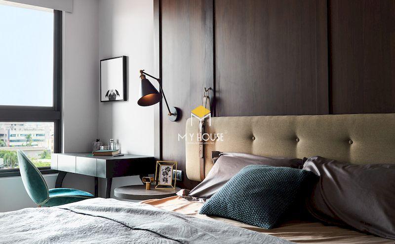 Mẫu giường ngủ bọc nỉ sang trọng cho phòng ngủ 2021