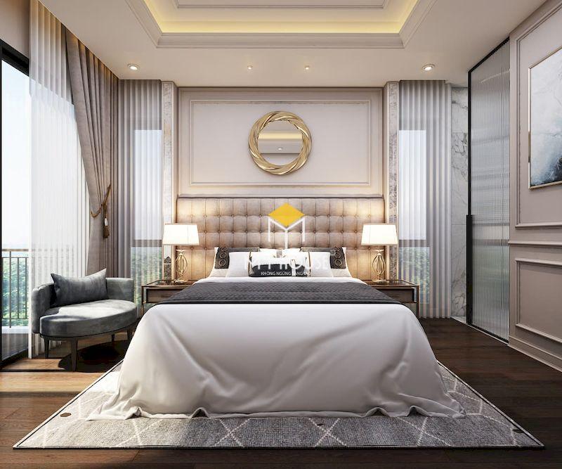 Giường ngủ phong cách châu Âu đẹp, sang trọng