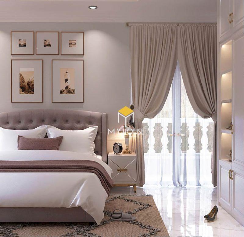Mẫu phòng ngủ phong cách châu âu sang trọng, thanh lịch