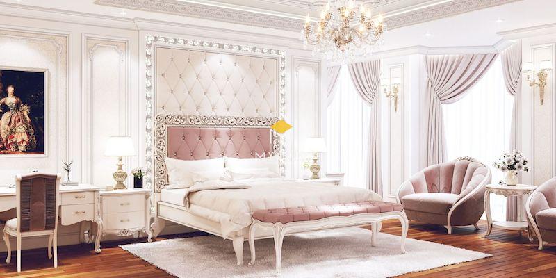 Phòng ngủ phong cách châu Âu tân cổ điển