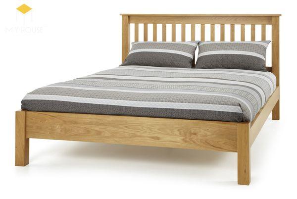 giường ngủ gỗ sồi đẹp
