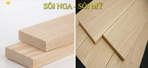 So sánh gỗ sồi Nga và gỗ sồi Mỹ