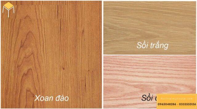 Gỗ sồi và gỗ xoan đào gỗ nào tốt hơn? 12