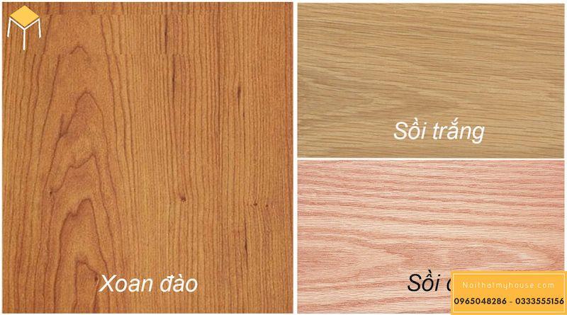 Gỗ sồi và gỗ xoan đào gỗ nào tốt hơn?