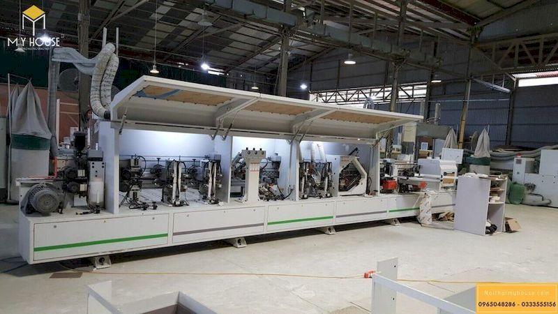Máy móc sản xuất tấm gỗ công nghiệp