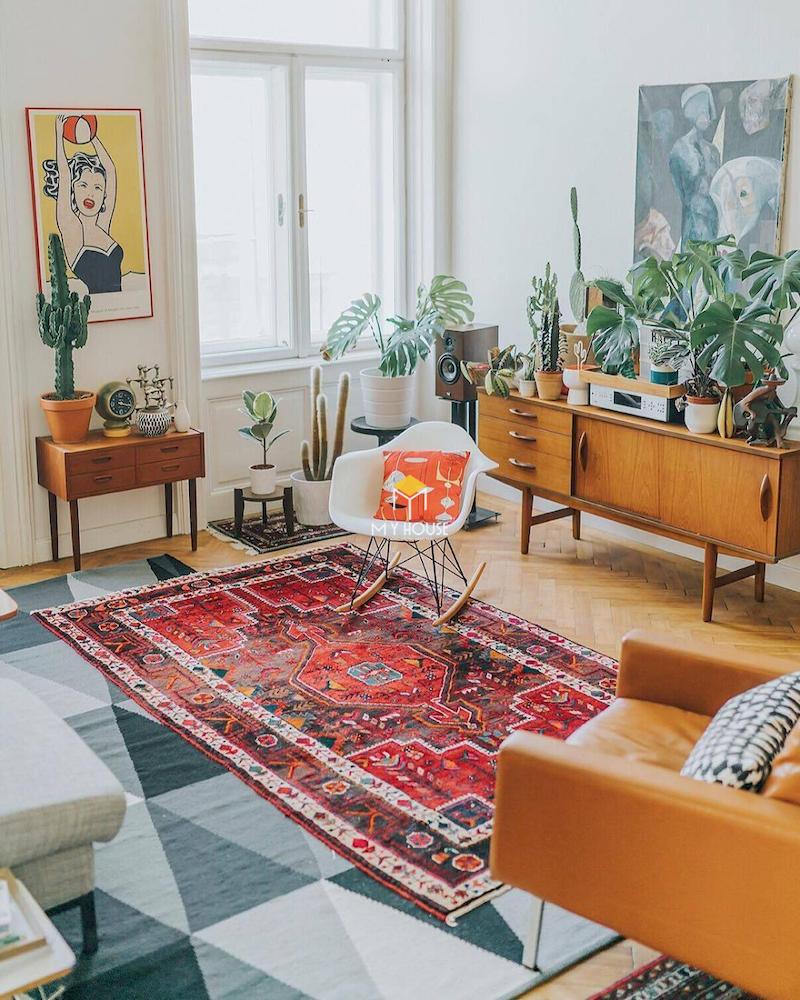 Phong cách nội thất Bohemian là gì?