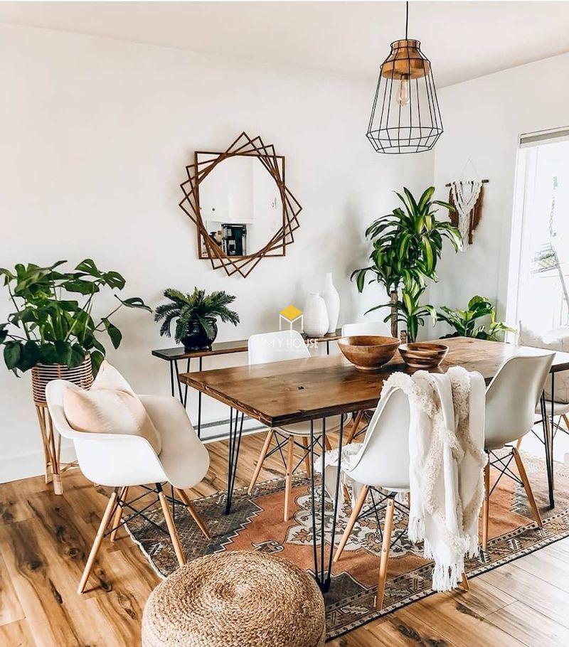 Phong cách nội thất Bohemian hướng tới tự nhiên
