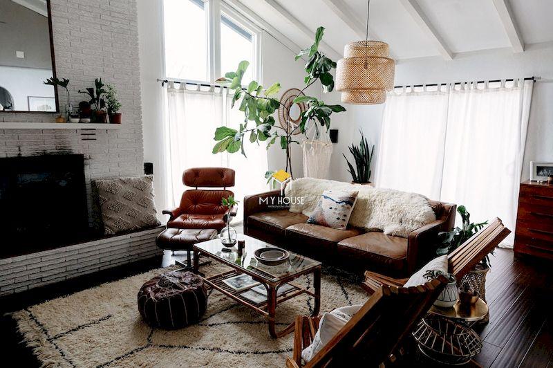 Phong cách nội thất Bohemian 3