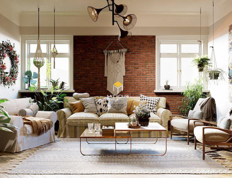Phong cách nội thất bohemian