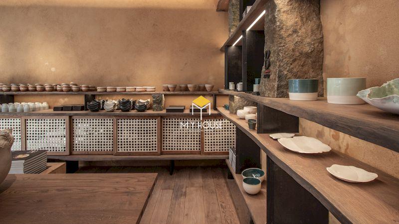 Nội thất phòng bếp phong cách thô mộc