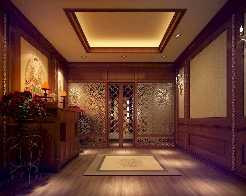 Phòng thờ tân cổ điển đẹp được đặt ở hướng nào?