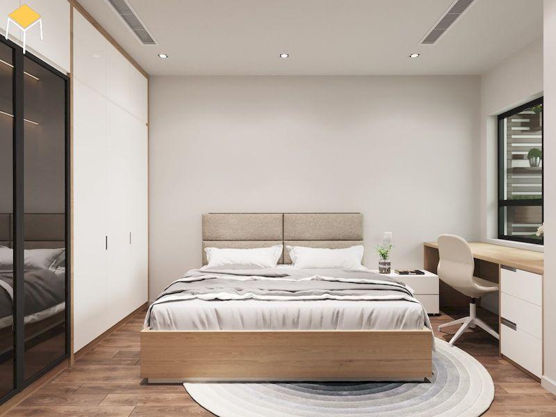 Công trình nội thất chung cư gỗ công nghiệp