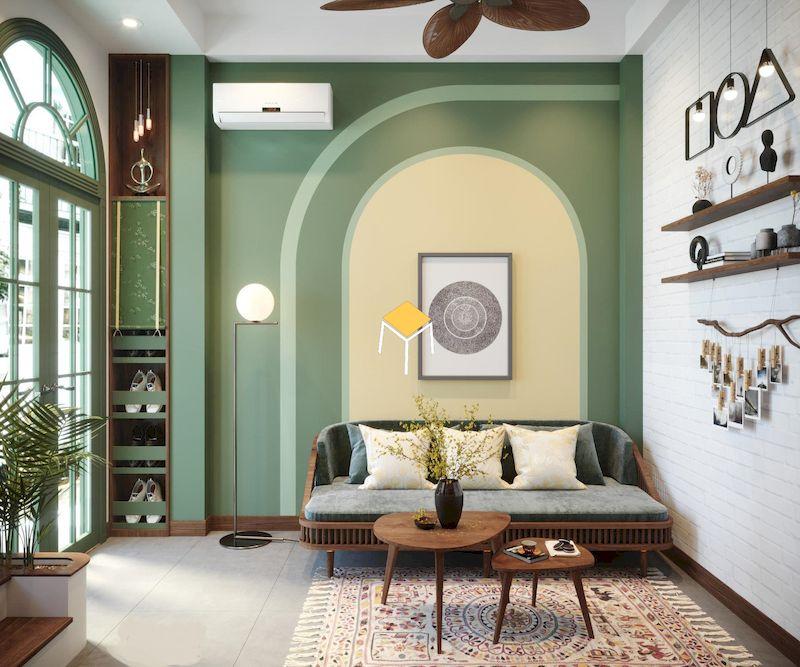 Chất liệu sử dụng trong sofa phong cách Indochine