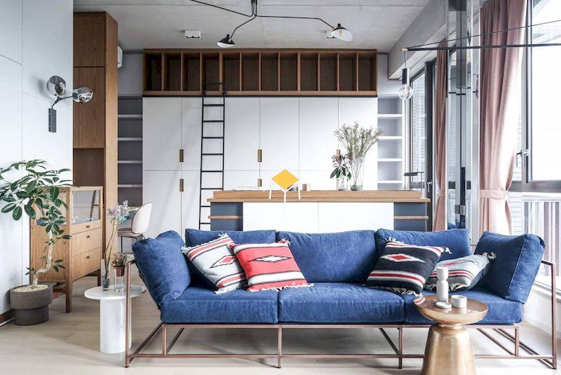 Đặc trưng của sofa phong cách Vintage - màu sắc