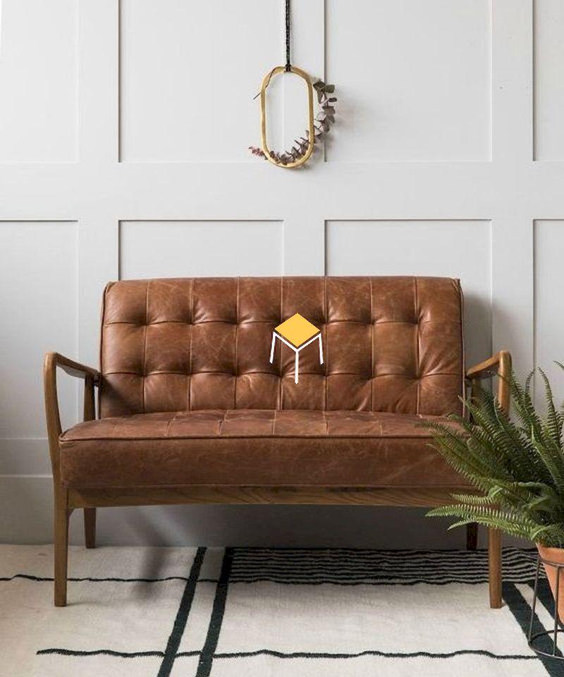 Ghế sofa đơn dài vintage