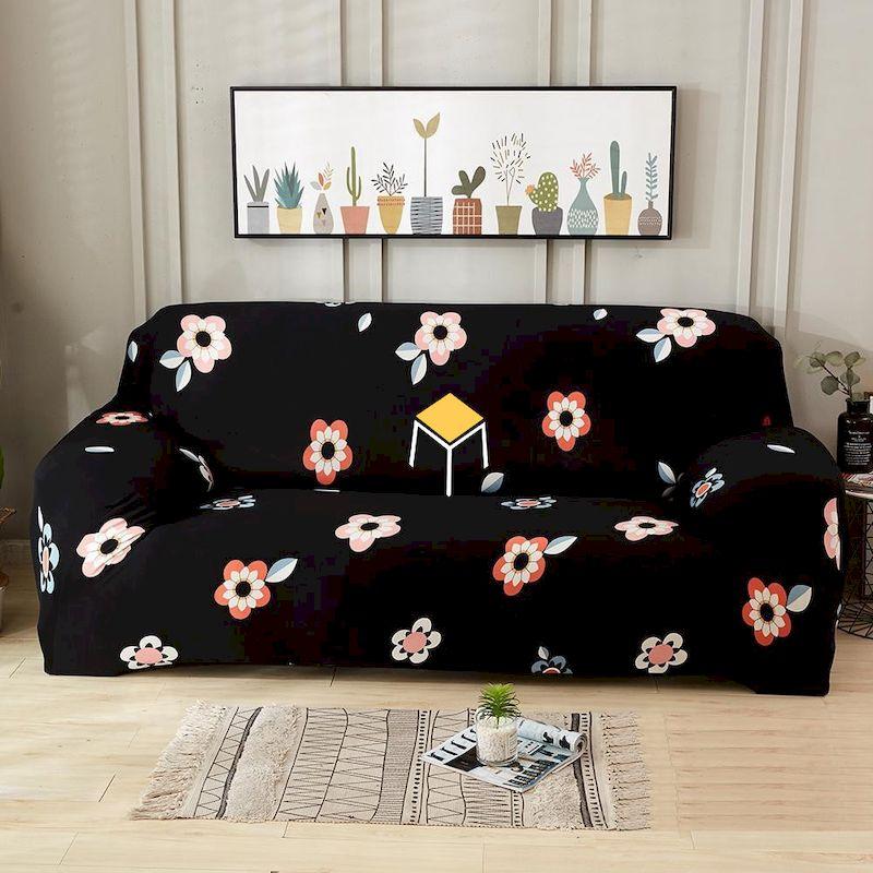Sofa vải hoa cá tính