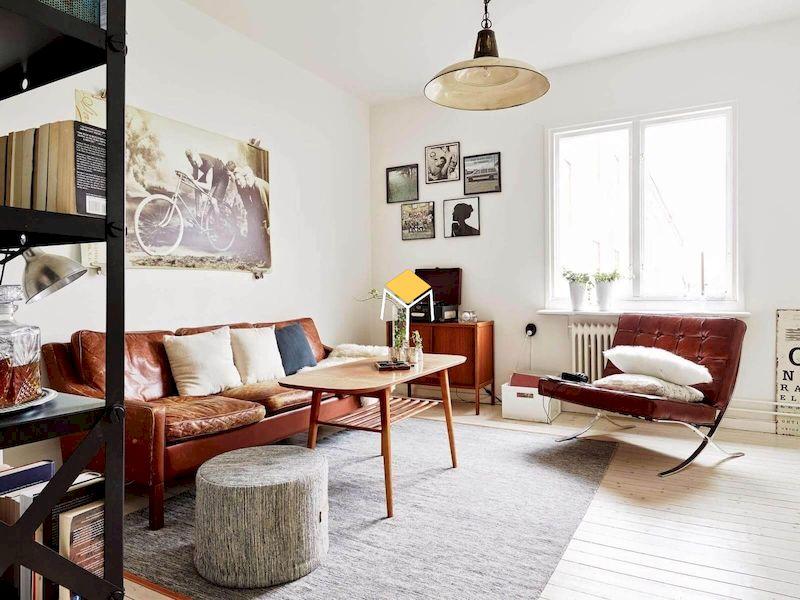 Màu sắc sofa phong cách retro ấn tượng, phá cách