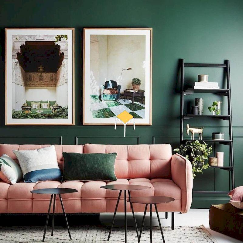 Lựa chọn sofa phòng khách retro theo kiểu dáng, màu sắc, chất liệu
