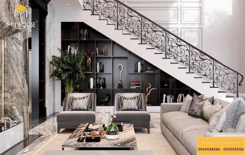 Thiết kế nội thất Biệt Thự Dương Nội Nam Cường 3