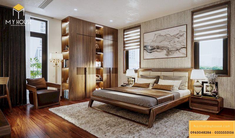 Thiết kế nội thất biệt thự Dương Nội Nam Cường cao cấp bậc nhất