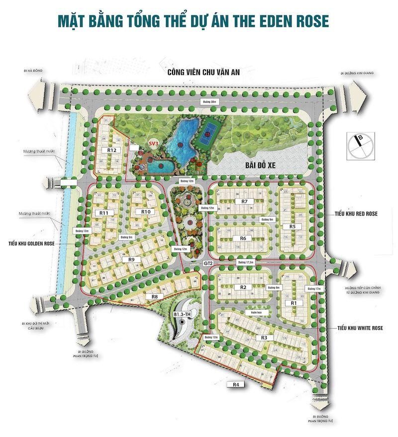 Tổng quan về dự án The Eden Rose