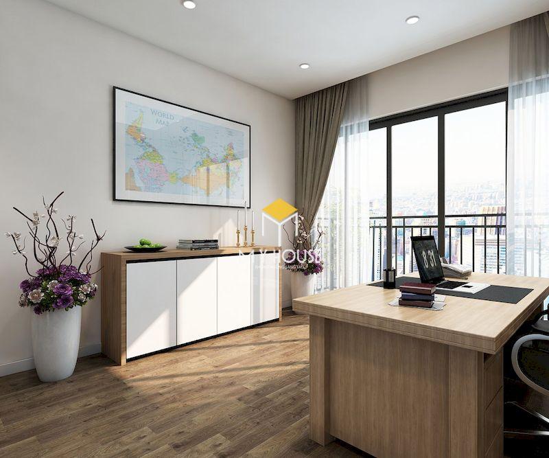 Thiết kế nội thất biệt thự liền kề Eden Rose - yên tĩnh và thông thoáng
