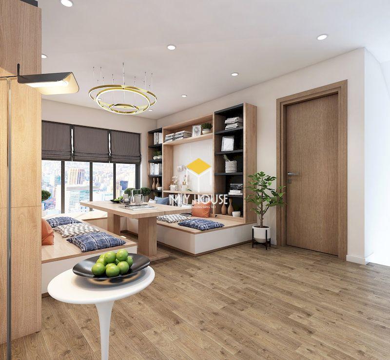 Thiết kế nội thất biệt thự liền kề Eden Rose - Phòng đọc, phòng thư giãn