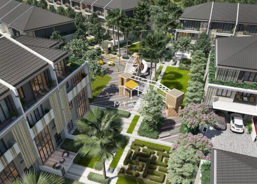 Thiết kế nội thất biệt thự liền kề The Mansions Park City 4