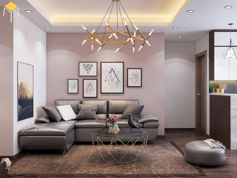 Trang trí phòng khách chung cư - Màu sắc phòng khách