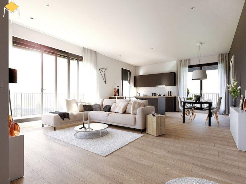 Trang trí phòng khách chung cư rộng