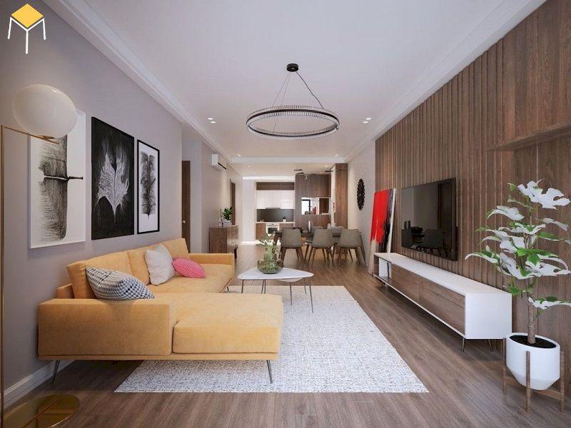 Trang trí phòng khách chung cư nhỏ hẹp